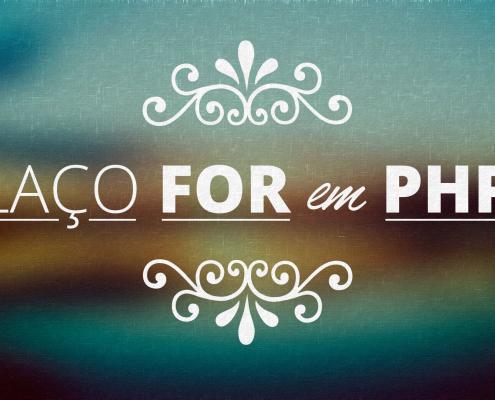 Laço for em PHP