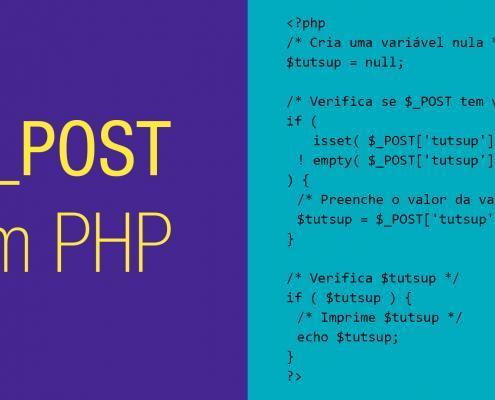 $_POST em PHP
