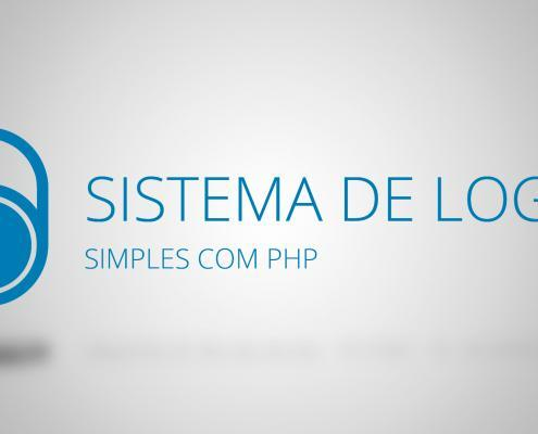Sistema de login simples com PHP