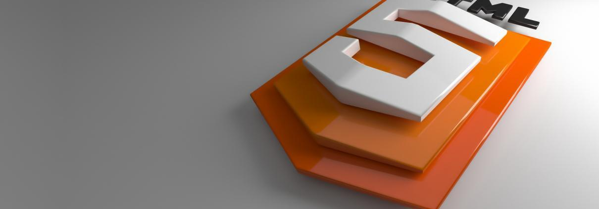 html5 logo 3d