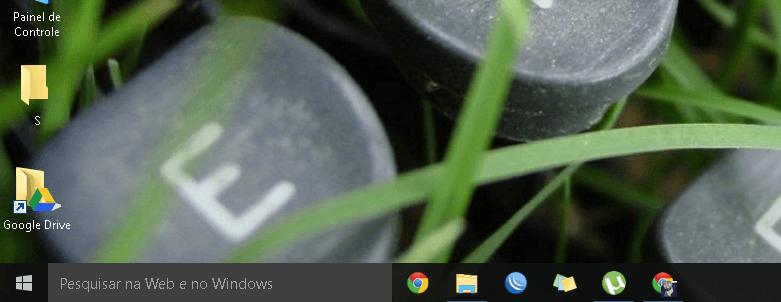 Caixa de pesquisas do Windows 10