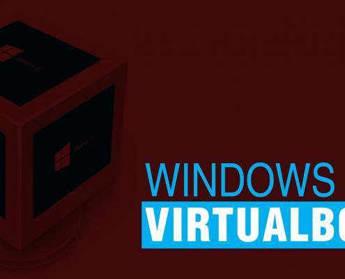 Instale o Windows 10 no VirtualBox