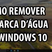 Remover marca d'água do Windows 10 (Manualmente)