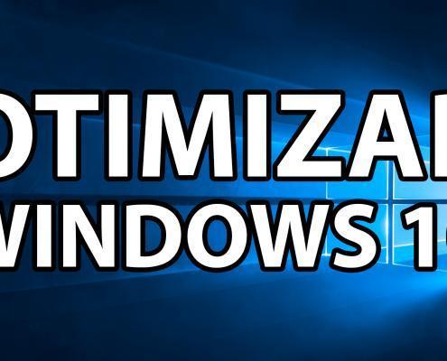 Otimizar desempenho do Windows 10