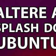 Altere a splash do Ubuntu (Logo do boot)