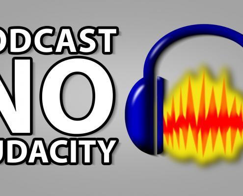 Melhorando podcast no Audacity