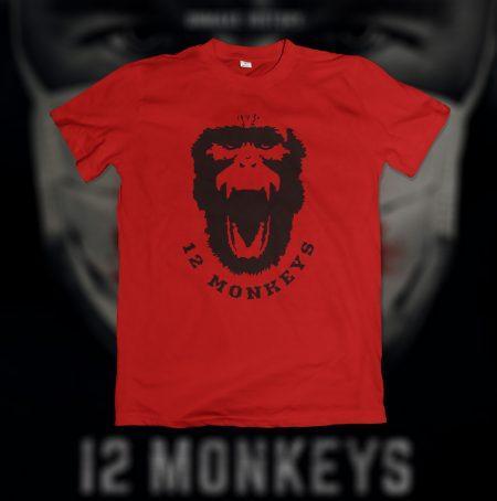 Camiseta 12 Monkeys (Os 12 Macacos)