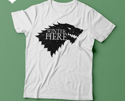 Camiseta Game Of Thrones Winter is here - Feminina