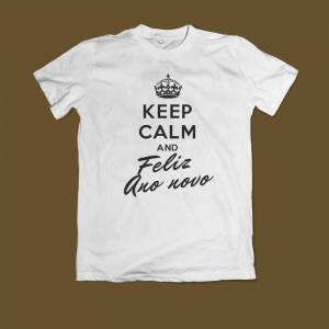 Keep Calm and Feliz Ano Novo