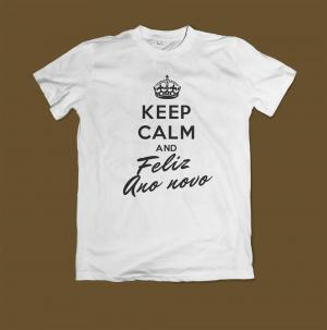 Keep Calm and Feliz Ano Novo