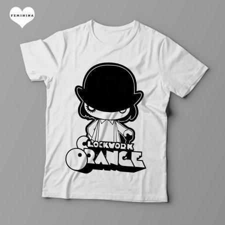 Camiseta Laranja Mecânica - Clockwork Orange (Feminina)