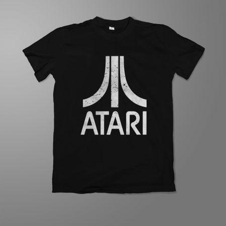 Camiseta Atari Masculina Preta