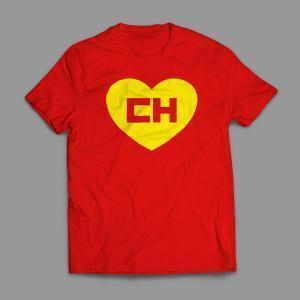 Camiseta Chapolin Colorado Masculina Vermelha