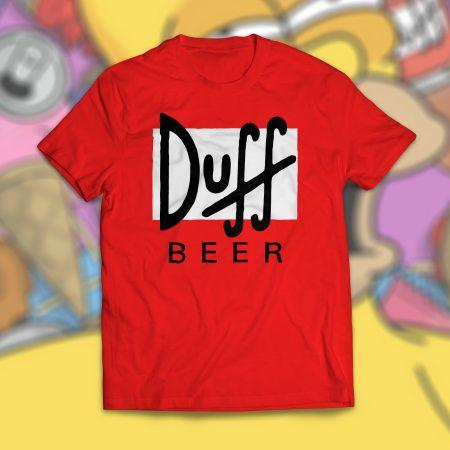 Camiseta Duff Beer Os Simpsons Masculina