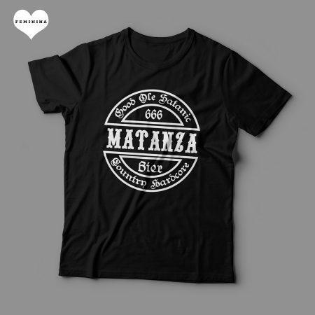 Camiseta Matanza Good Ole Satanic Country Hardcore Feminina