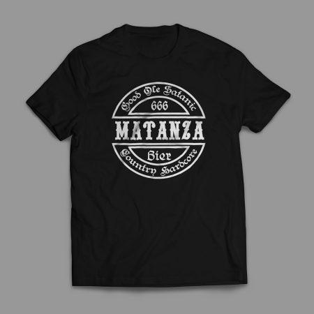 Camiseta Matanza Good Ole Satanic Country Hardcore Masculina