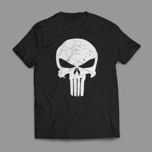 Camiseta O Justiceiro Masculina Preta
