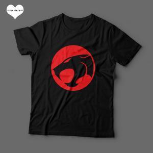 Camiseta Thundercats Feminina Preta