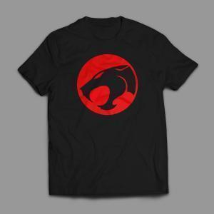 Camiseta Thundercats Masculina Preta