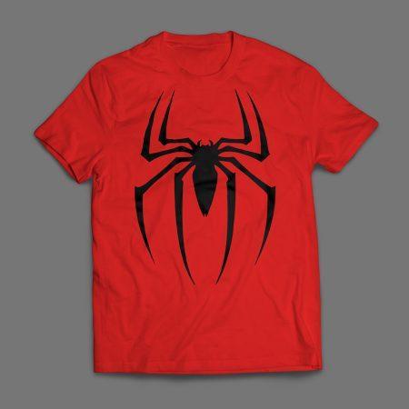Camiseta Homem Aranha Spider Man Masculina Vermelha