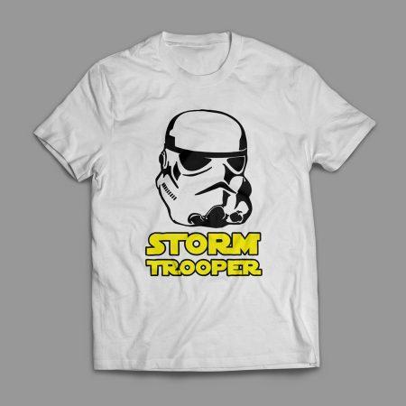 Camiseta Star Wars Stormtrooper Masculina Branca