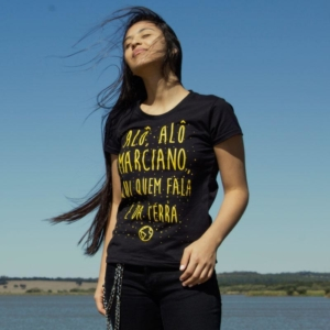 Camiseta Alô Alô Marciano Feminina Capa