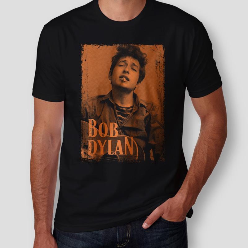 Camiseta Bob Dylan Masculina Capa