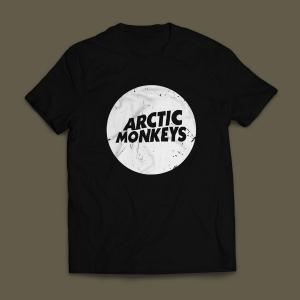 Camiseta Arctic Monkeys Masculina Preta