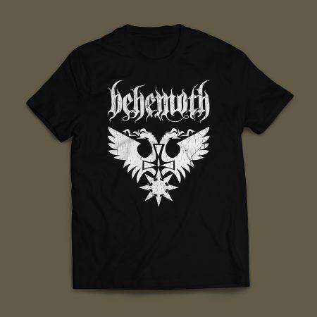 Camiseta Behemoth Masculina Preta