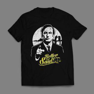Camiseta Better Call Saul Masculina Preta