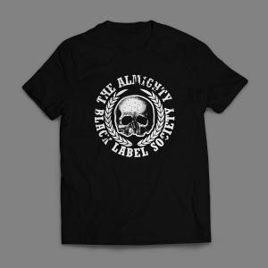 Camiseta Black Label Society Masculina Preta