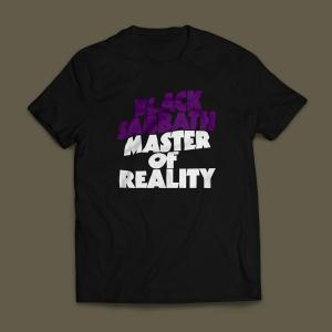 Camiseta Black Sabbath Master Of Reality Masculina Preta