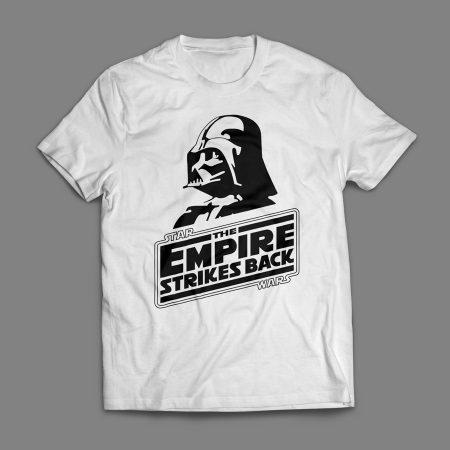Camiseta Star Wars O Império Contra-Ataca Masculina Branca