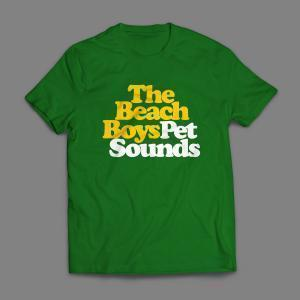 Camiseta The Beach Boys Pet Sounds Masculina Verde