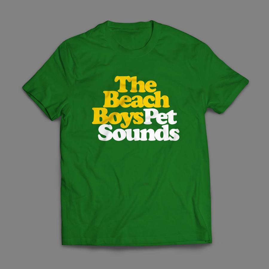 Camiseta The Beach Boys Pet Sounds Masculina Verde