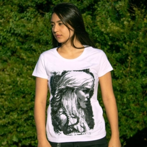 Camiseta Daenerys Targaryen Game Of Thrones Feminina Capa