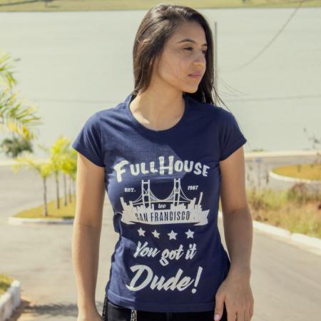Camisa Full House Série Feminina Capa