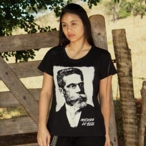 Camiseta Machado De Assis Feminina Capa