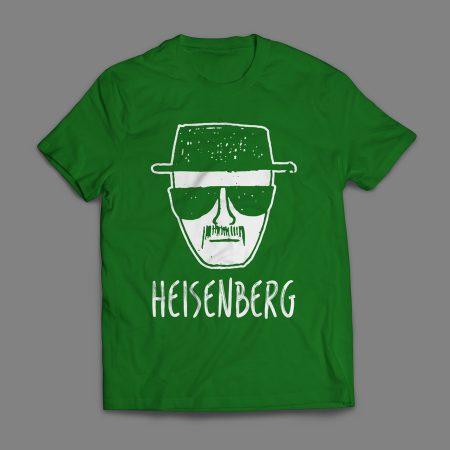 Camiseta Heisenberg Desenho Masculina Verde