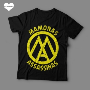 Camiseta Mamonas Assassinas Feminina Preta