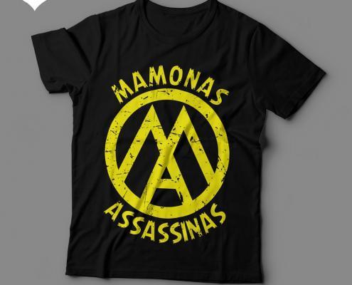 Camiseta Mamonas Assassinas Feminina Preta