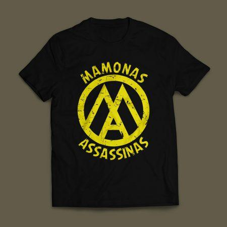 Camiseta Mamonas Assassinas Masculina Preta