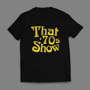 Camiseta That 70s Show Masculina Preta