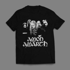 Camiseta Amon Amarth Death Metal Masculina Preta