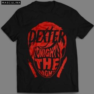 Camiseta Dexter Masculina Preta