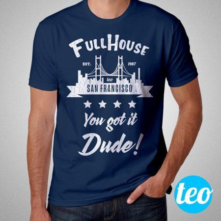Camisa Full House Série Masculina Cover