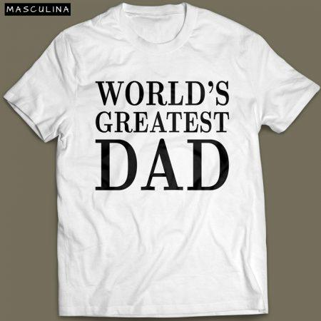 Camiseta Worlds Greatest Dad para o dia dos pais Cover 2