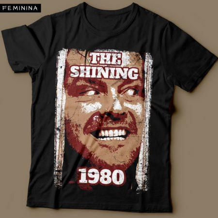 Camiseta O Iluminado Feminina Cover