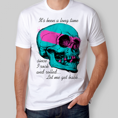 Camiseta Rock And Roll Led Zeppelin Masculina Cover