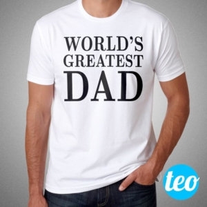 Camiseta Worlds Greatest Dad para o dia dos pais Cover